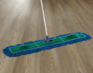Commercial Mop Supplies_Green Dust Mops_GoldenWest BetterWay