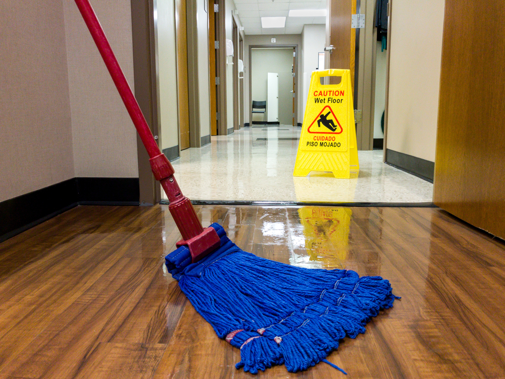 how often do floors need to be cleaned