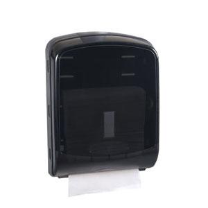 Black Paper Towel Dispenser_Public Restroom Products